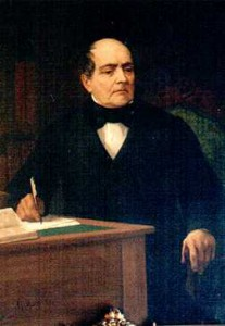 Ilustración 4: Andrés Bello en un retrato de Giovanni Mochi